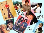 Teen Idols of the 70s and 80s wallpaper...first in a series...